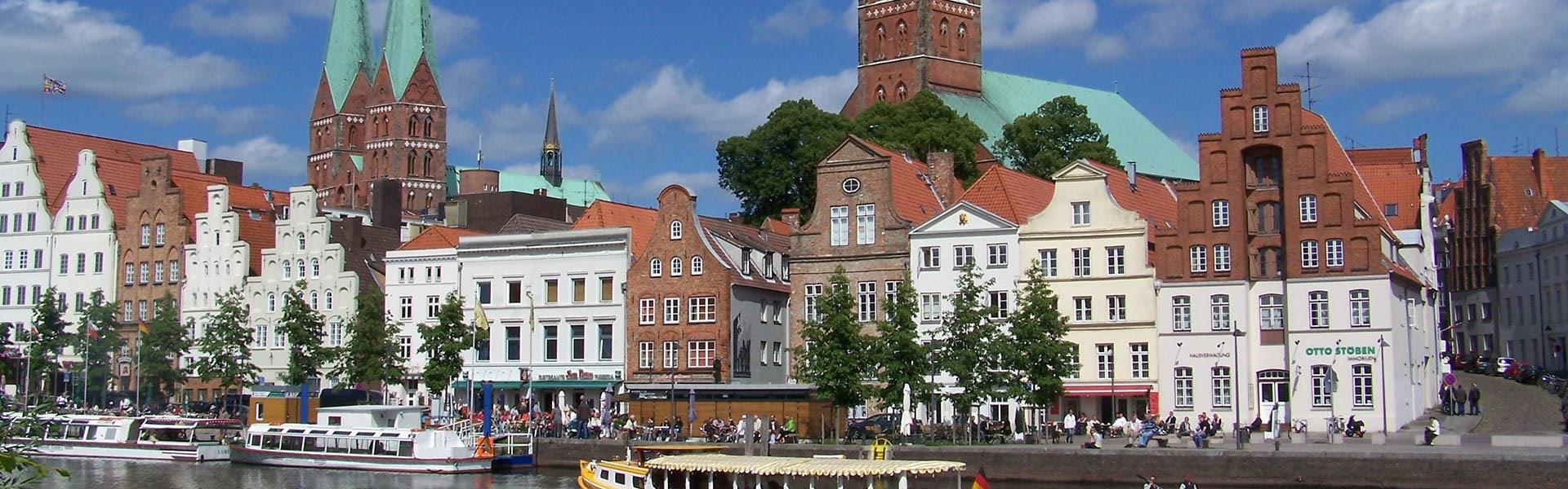 Hansestadt Lübeck an der Obertrave im Bereich San Remo | Delphos Technische Kriminalprävention